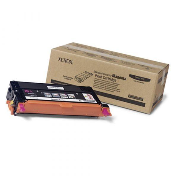 Xerox Magenta Standard Capacity Print Cartridge, Phaser 6180 Series