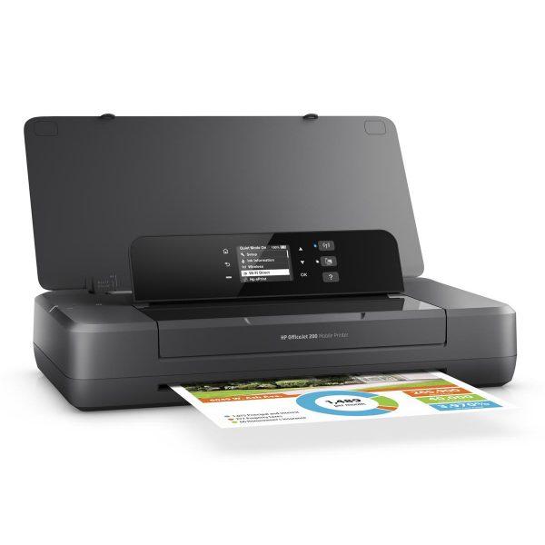 HP Officejet 200 Mobile Colour 4800 x 1200DPI A4 Wi-Fi inkjet printer