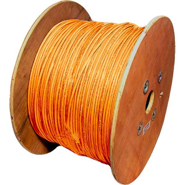 500m Cat6 U/UTP Stranded LSOH Orange
