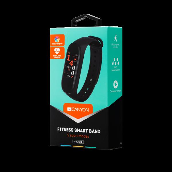 Canyon Smart Fitness Band CNE-SB01BN