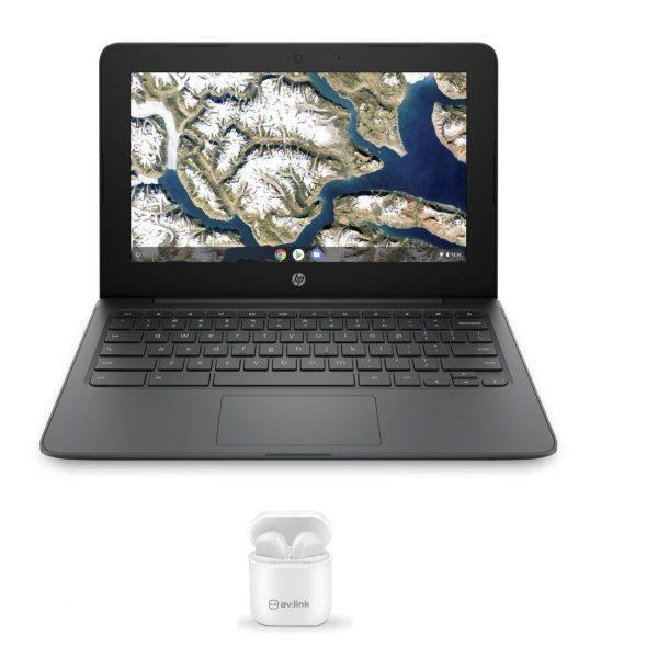 HP11A Chromebook with Ear Shots